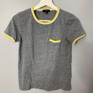 J. Crew Gray Basic T Shirt